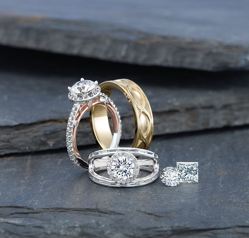 Buy Certified Diamond Rings